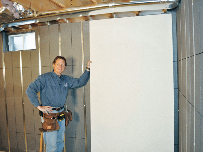 Insulated Basement Wall Paneling In Bridgewater