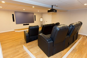 Basement theater installed in Quincy