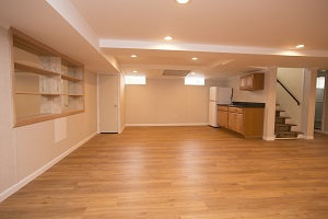 A beautiful, finished basement in South of Boston, Cape Cod, and RI